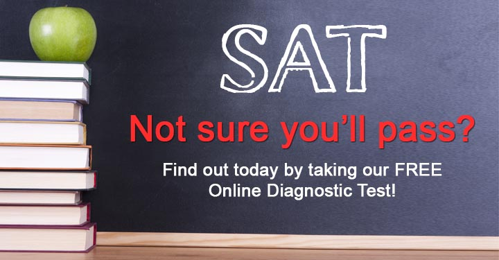 Free online SAT preparation diagnostic test